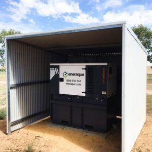 Eneraque Diesel Generator Installation