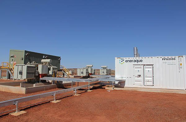 Eneraque Silenced Diesel Generators in Action