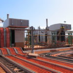 Eneraque 3MW Gas Power Generation Plant Cable Trays - Gas Generators Australia