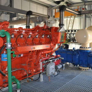Gas Trigeneration Open-set Generator