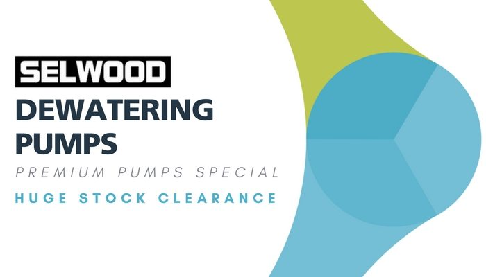 Selwood Dewatering Pump Stock Clearance – Eneraque