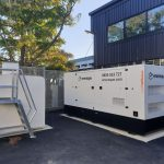 MediaWorks Standby Diesel Generator and Bulk Fuel Storage tank - Eneraque